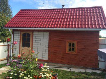 Проект дома Баня ББ-01